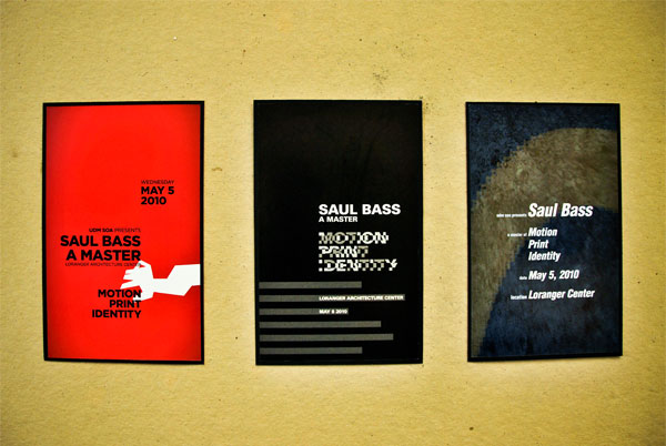 Saul Bass Poster Series